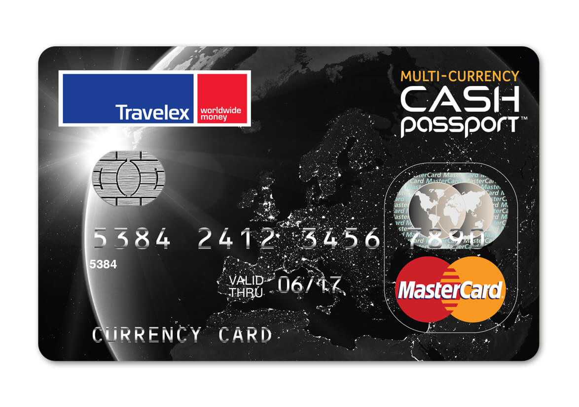 Multi-Currency Cash Passport - Buy or Reload | Travelex