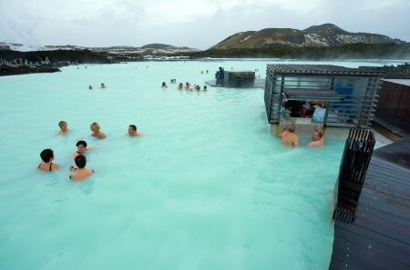 Bathe in the iconic Blue Lagoon