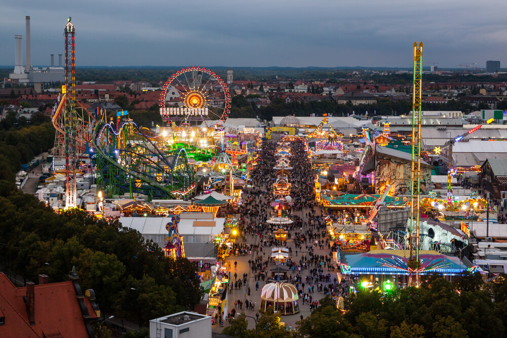 Oktoberfest | Munich, Germany | 17th Sept-4th Oct
