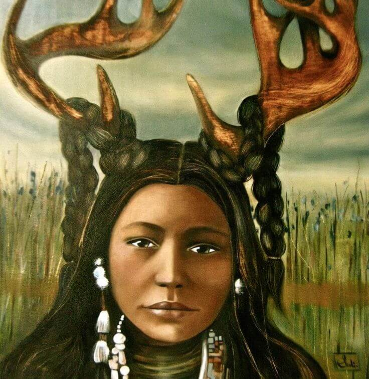 USA: The Deer Woman