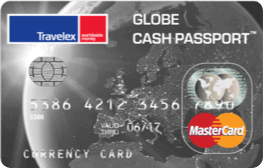 Graphic of Global cash passport card from Travelex