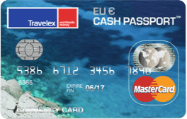 Graphic of Single-Currency Cash Passport card from Travelex