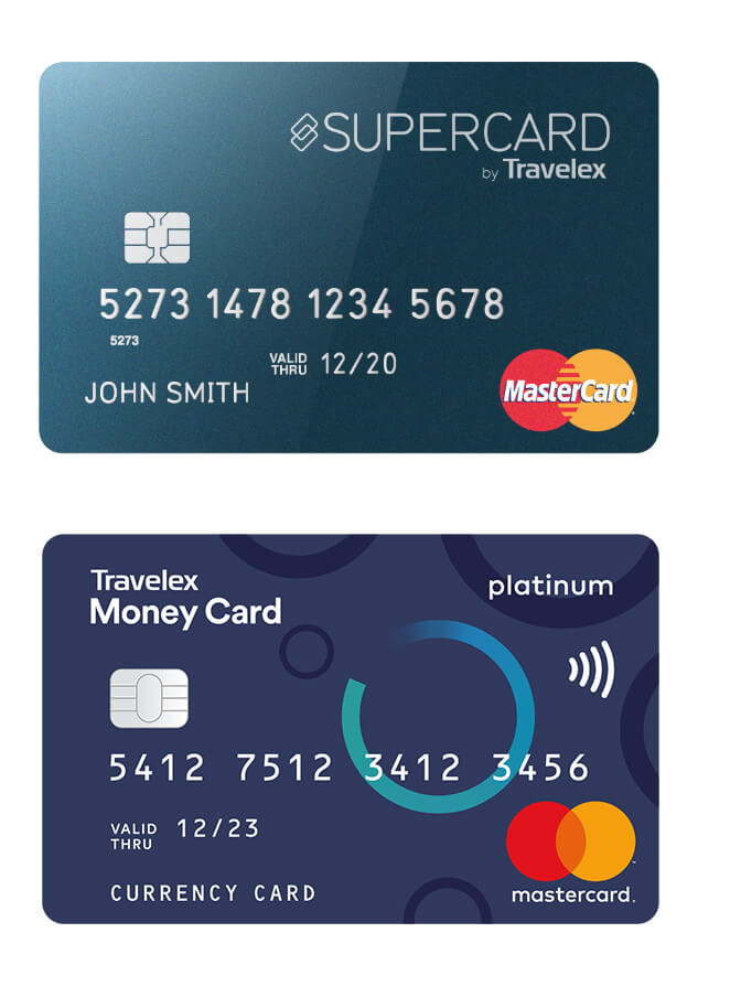 Get savvy with our currency cards